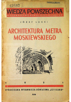 Architektura metra moskiewskieog
