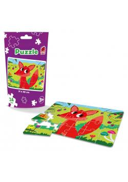 Puzzle edukacyjne - Lisek