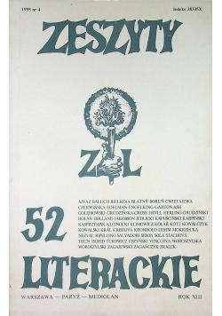 Zeszyty literackie 52