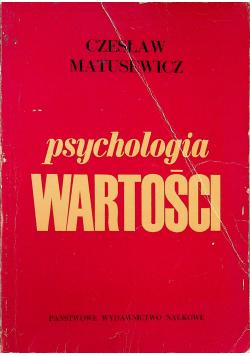 Psychologia wartości