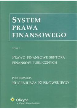 System prawa finansowego Tom 2