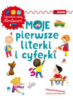 Moje pierwsze literki i cyferki z elementami metody Montessori