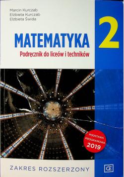 Matematyka 2 Podręcznik do liceów i techników Zakres rozszerzony