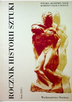 Rocznik historii sztuki  tom XXVI