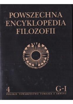 Powszechna Encyklopedia Filozofii t.4 G-I