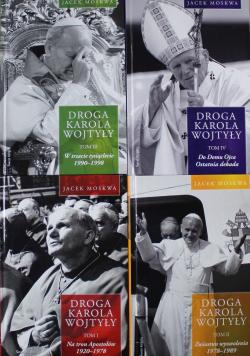 Droga Karola Wojtyły Tom I do IV