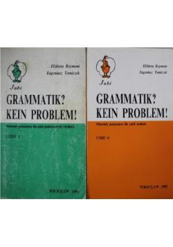 Grammatik kein problem II Części
