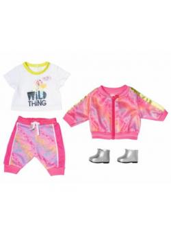 Baby born - Ubranka Delux Trendy pink 43cm