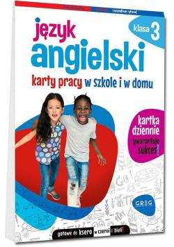 Język angielski SP 3 Karty pracy w szkole i w domu