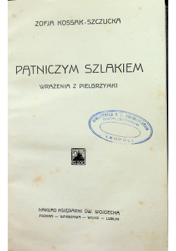 Pątniczym szlakiem 1933 r