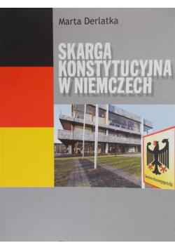 Skarga Konstytucyjna w Niemczech