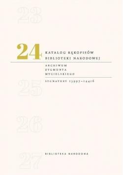 Katalog rękopisów Biblioteki Narodowej T.24