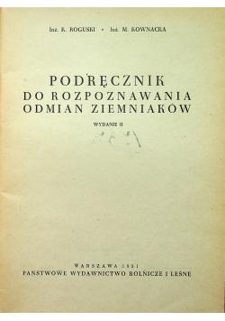 Podręcznik do rozpoznawania odmian ziemniaków