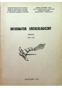 Informator Archeologiczny badania rok 1976