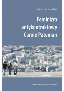 Feminizm antykontraktowy Carole Pateman