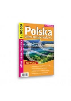 Atlas sam. Polska 1:300 000 spirala DEMART