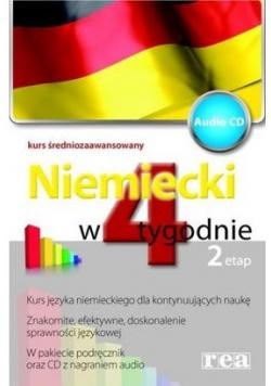 Niemiecki w 4 tygodnie Etap 2 z płytą CD
