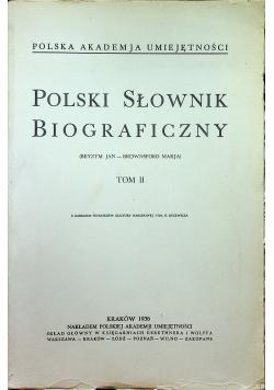 Polski Słownik Biograficzny Tom III Reprint1936 r