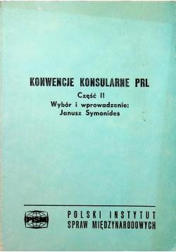 Konwencje Konsularne PRL Część II