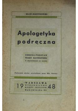 Apologetyka podręczna 1948 r.