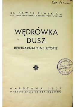 Wędrówka dusz 1937 r