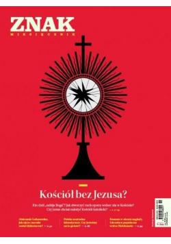 Miesięcznik Znak 786 11/2020 Kościół bez Jezusa?