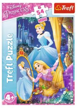 Puzzle 54 mini Przygody księżniczek 1 TREFL