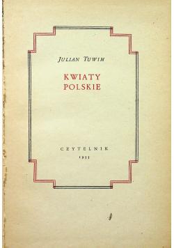 Tuwim Kwiaty polskie