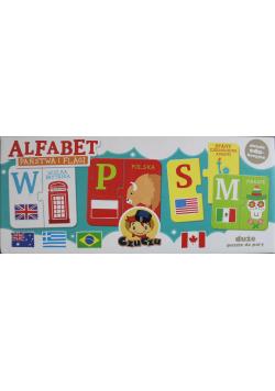 Puzzle Alfabet Państwa i Flagi