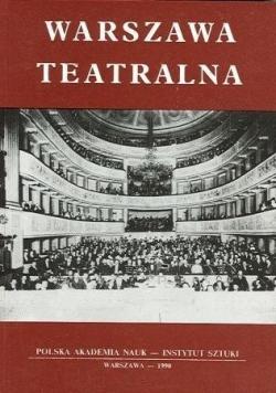 Warszawa teatralna
