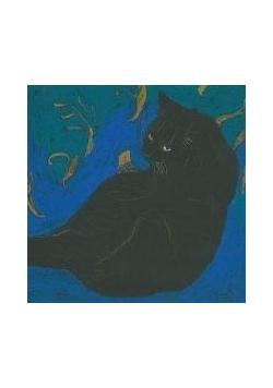 Notes. Niebieski kot