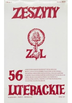 Zeszyty literackie 56 4/1996