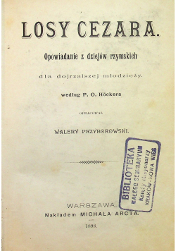 Losy Cezara 1898 r.
