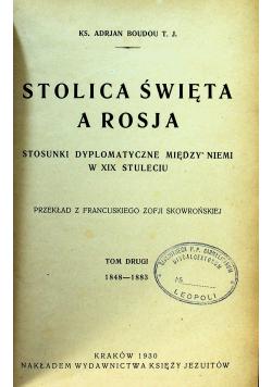 Stolica święta a Rosja tom II  1930 r.