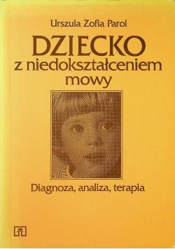 Dziecko z niedokształceniem mowy