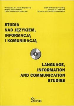 Studia nad językiem informacją i komunikacją