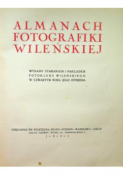 Almanach fotografiki Wileńskiej 1931 r.