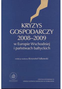 Kryzys gospodarczy 2008 - 2009 w Europie Wschodniej i państwach bałtyckich