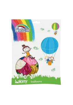 "Balony Metal 12"" mix 100szt FIORELLO"