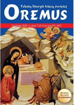 Oremus 12(291)/2020 teksty liturgii Mszy Świętej