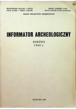Informator archeologiczny badania 1968 r