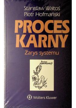Proces karny Zarys systemu
