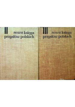 Nowa księga przysłów polskich tom II i III