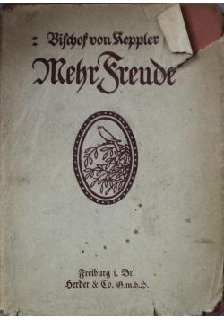 Mehr Freunde 1921 r.