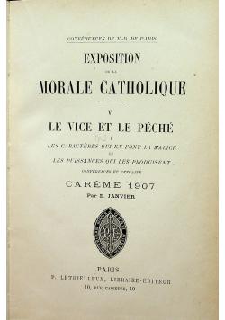 Exposition de la morale catholique 1907 r