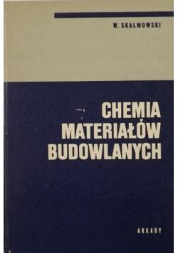 Chemia materiałów budowlanych