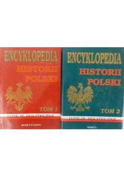 Encyklopedia historia Polski t. I-II