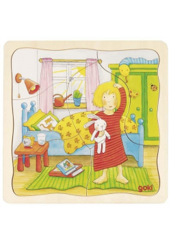 Drewniane puzzle Dzień z mojego życia