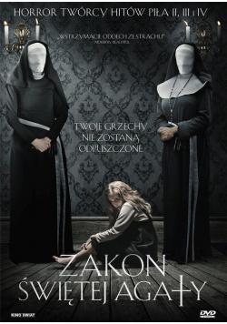 Zakon Świętej Agaty DVD