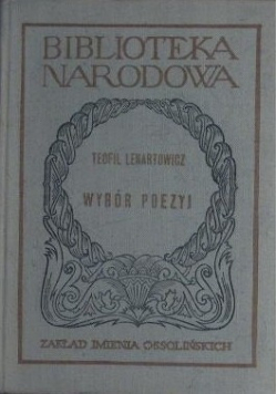 Lenartowicz Wybór poezyj